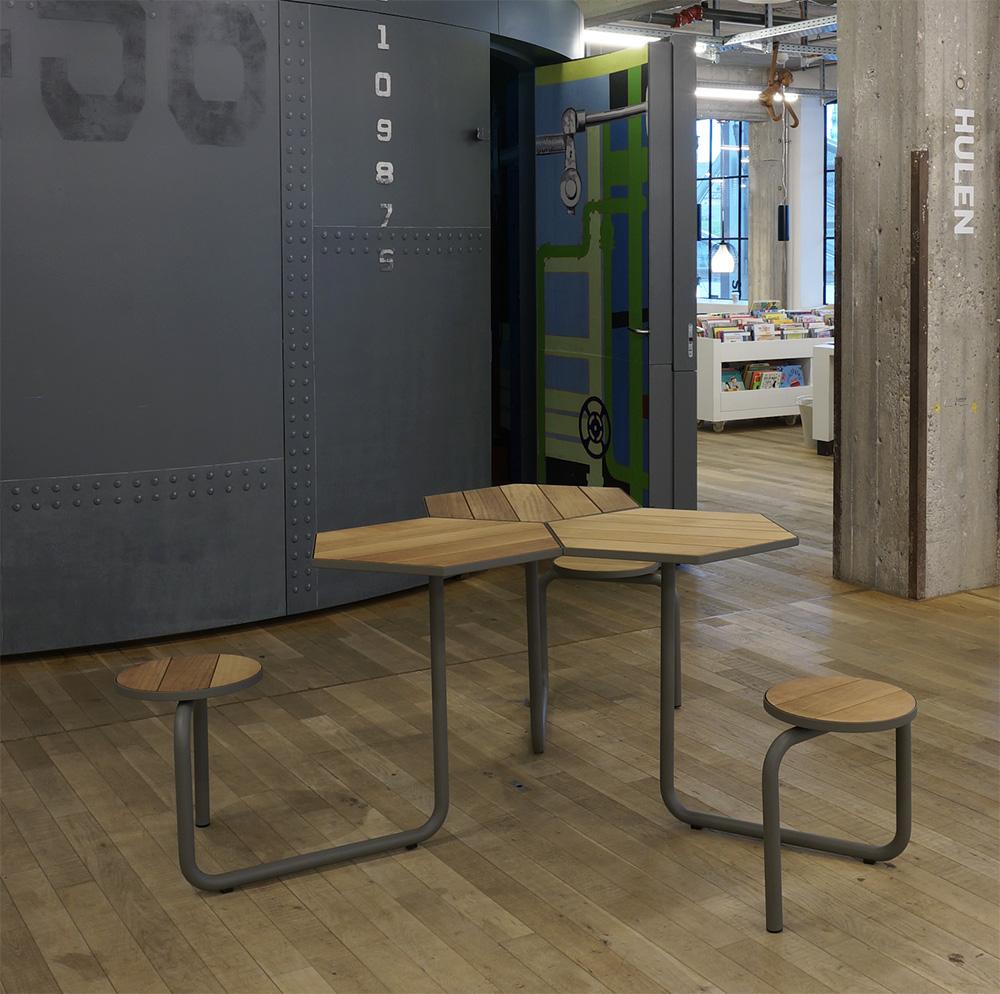 Kirch Terrase modulaire meubel hexagon