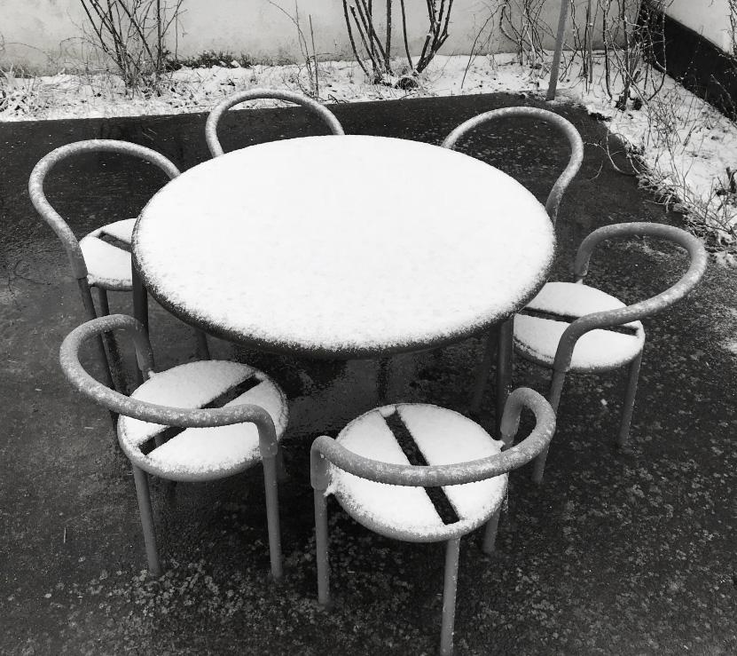 Kirch Terrase modulaire meubel rond