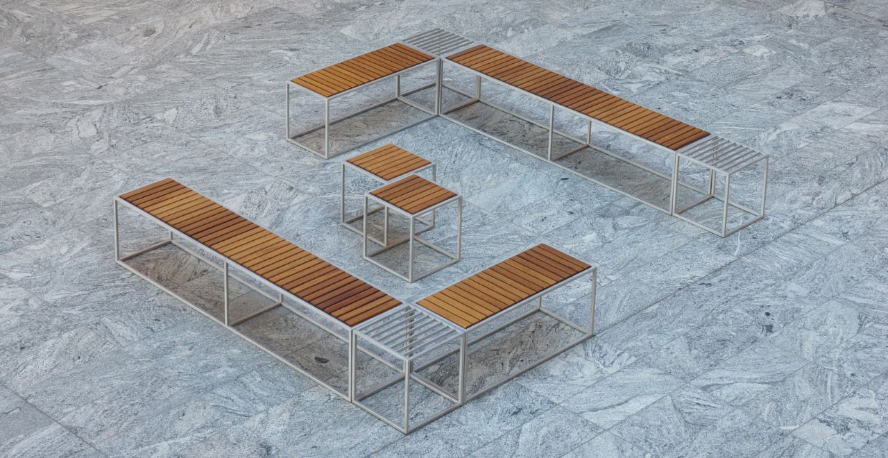Kirch Terrase modulaire meubel square
