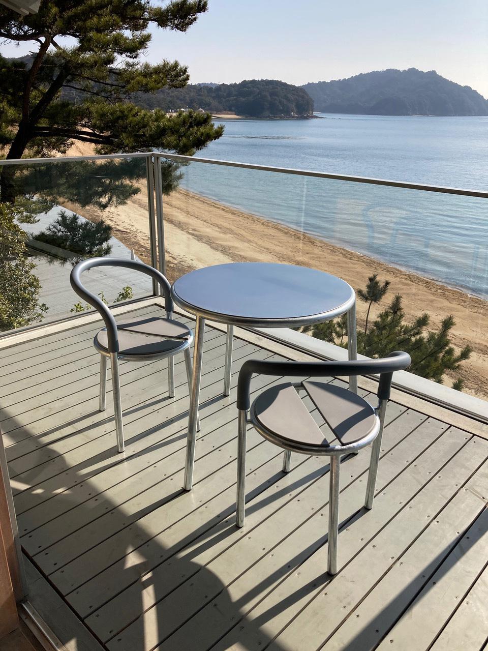 Kirch Terrase modulaire tuinset balkon rond